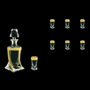 Bohemia Quadro Set WD+B5 QNGC b 1+6 pcs, 500ml+6x50ml, in Romance Gold. Cl. D.(33-490)