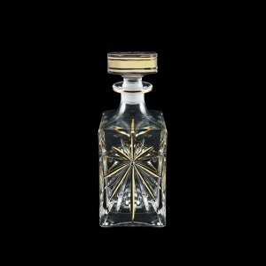 Oasis WD OCG Whisky Decanter 850ml, 1pc in Half Star Gold (1296/KCR)