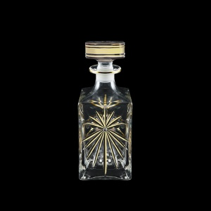 Oasis WD OOG Whisky Decanter 850ml, 1pc in Full Star Gold (1306/KCR)