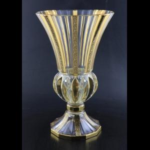 Adagio VVA AMGB Vase 35cm 1pc in Lilit Golden Black Decor (31-405)
