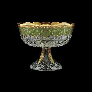 Opera MVO OEGG Large Bowl d23cm 1pc in Flora´s Empire Golden Green Decor (24-532)