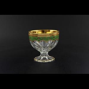 Trix MM TEGG Small Bowl d10cm 1pc in Flora´s Empire Golden Green Decor (24-533)