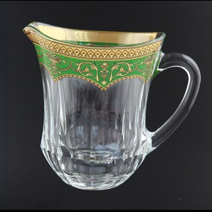 Provenza J PEGG Jug 1230ml 1pc in Flora´s Empire Golden Green Decor (24-551)
