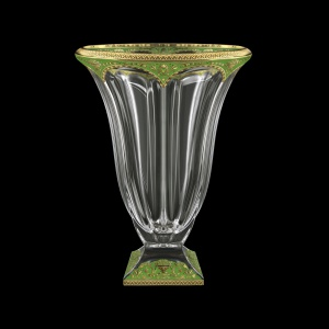 Panel VV PEGG CH Vase 36cm 1pcin Flora´s Empire Golden Green Decor (24-351)