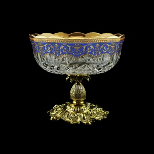 Opera MVZ OEGC Large Bowl d23cm 1pc in Flora´s Empire Golden Blue Decor (23-532/JJ02)