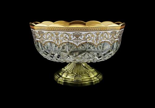 Opera MVZ OEGW Large Bowl d23cm 1pc in Flora´s Empire Golden White Decor (21-532/O.17)