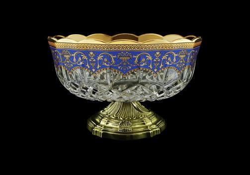 Opera MVZ OEGC Large Bowl d23cm 1pc in Flora´s Empire Golden Blue Decor (23-532/O.17)