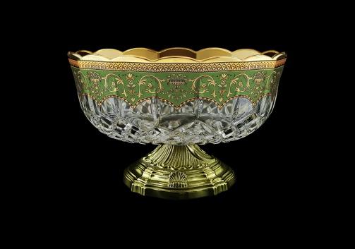 Opera MVZ OEGG Large Bowl d23cm 1pc in Flora´s Empire Golden Green Decor (24-532/O.17)