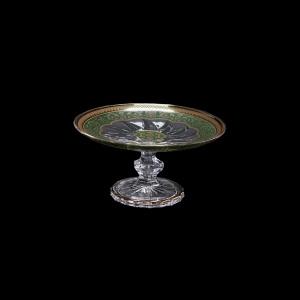 Trix CPT TEGG Cake Plate d18cm 1pc in Flora´s Empire Golden Green Decor (24-587)