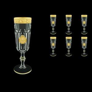 Provenza CFL POGC Champagne Flutes 160ml 6pcs in Romance&Leo Golden Classic D. (43-138)