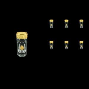Provenza B5 POGC Liqueur Tumbler 50ml 6pcs in Romance&Leo Golden Classic D. (43-142)