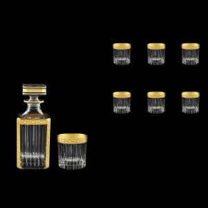 Timeless Set WD+B2 TNGC Whisky Set 750ml+6x360ml in Romance Golden Classic (33-280/291)
