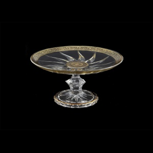 Trix CPT TMGB Cake Plate d18cm 1pc in Lilit Golden Black Decor (31-185)