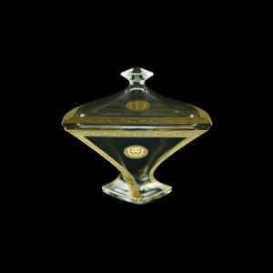 Bohemia Quadro DO QOGC Dose d22,5cm 1pc in Romance&Leo Golden Classic Decor (43-458)