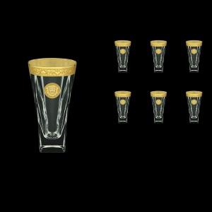 Fusion B0 FOGC Water Glasses 384ml 6pcs in Romance&Leo Golden Classic Decor (43-398)