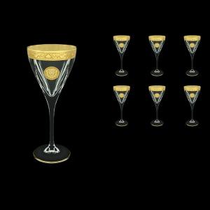 Fusion C2 FOGC Wine Glasses 250ml 6pcs in Romance&Leo Golden Classic Decor (43-432)