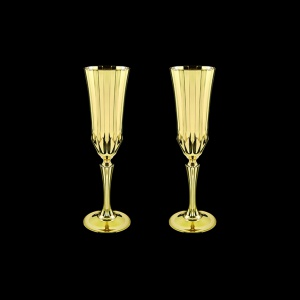 Adagio CFL AAG Champagne Flutes 180ml 2pcs in Gold (1316/2)