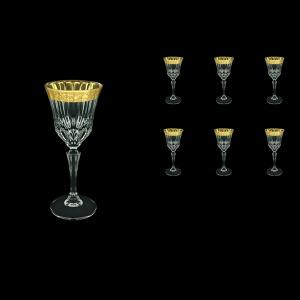 Adagio C4 ANGC Wine Glasses 150ml 6pcs in Romance Golden Classic Decor (33-481)