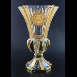 Adagio VVA AOGC Vase 35cm 1pc in Romance&Leo Golden Classic Decor (43-405)