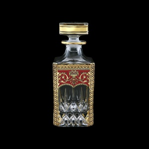 Opera WD OEGR Whisky Decanter 750ml 1pc in Flora´s Empire Golden Red Decor (22-661)
