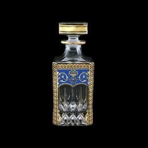 Opera WD OEGC Whisky Decanter 750ml 1pc in Flora´s Empire Golden Blue Decor (23-661)