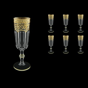 Provenza CFL PELK Champagne Flutes 160ml 6pcs in Flora´s Empire G. Crystal Light(20-524/L)
