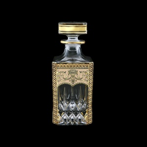 Opera WD OEGI Whisky Decanter 750ml 1pc in Flora´s Empire Golden Ivory Decor (25-661)
