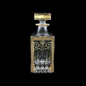 Opera WD OEGB Whisky Decanter 750ml 1pc in Flora´s Empire Golden Black Decor (26-661)