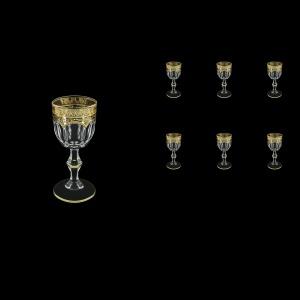 Provenza C5 PELK Liqueur Glasses 50ml 6pcs in Flora´s Empire G. Crystal Light (20-521/L)