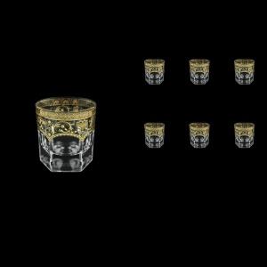 Provenza B3 PELK Whisky Glasses 185ml 6pcs in Flora´s Empire G. Crystal Light (20-526/L)
