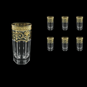 Provenza B0 PELK Water Glasses 370ml 6pcs in Flora´s Empire G. Crystal Light  (20-525/L)