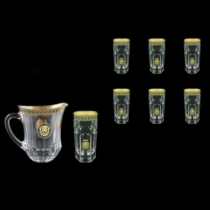 Provenza Set J+B0 PLGB 1230ml +6x370ml 1+6pcs in Antique&Leo Golden Black D. (42-362/141)