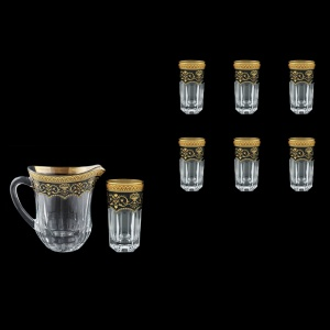 Provenza Set J+B0 PEGB 1230ml +6x370ml in Flora´s Empire Golden Black D. (26-551/525)
