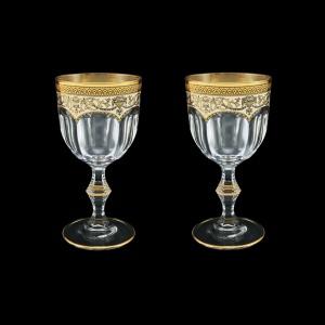 Provenza C2 PEGI Wine Glasses 230ml 2pcs in Flora´s Empire Golden Ivory Decor (25-523/2)