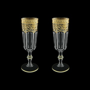 Provenza CFL PELK Champagne Flutes 160ml 2pcs in F. Empire G. Crystal Light(20-524/2/L)