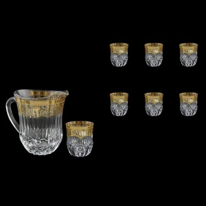 Adagio Set J+B2 AELK 1230ml+6x350ml 1+6pcs in F. Empire G.Crystal Light (20-597/595/L)