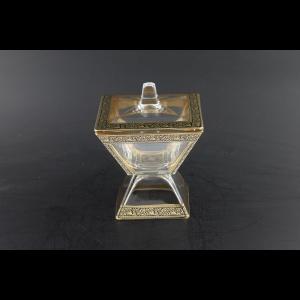 Torcello DOC TMGB Small Dose w/F 11x11cm 1pc in Lilit Golden Black Decor (31-674)