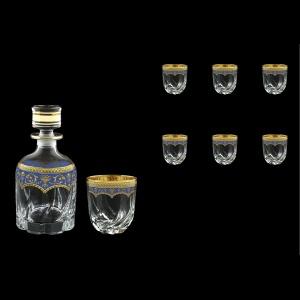 Trix Set WD+B2 TEGC Whisky Set 800ml+6x400ml in Flora´s Empire Gold. Blue D. (23-569/566)