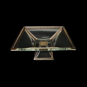 Ducale MVD DMGB Large Bowl w/F 35x35cm 1pc in Lilit Golden Black Decor (31-682)