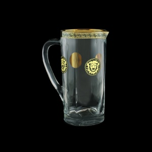 Fusion J FLGB Jug 1200ml 1pc in Antique&Leo Golden Black Decor (42-399)
