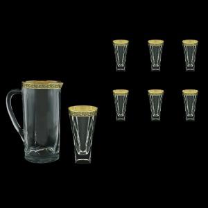 Fusion Set J+B0 FMGB Water 1230ml+6x384ml 1+6pcs in Lilit Gold. Black D. (31-399/398)