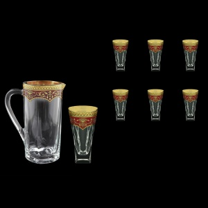 Fusion Set J+B0 FEGR Water 1230ml+6x384ml in Flora´s Empire Gold. Red D. (22-550/548)