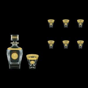 Fusion Set WD+B3 FOGC Whisky Set 800ml+6x200ml in Romance&Leo Gol. Classic D. (43-435/437)