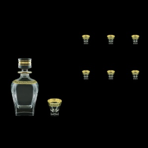 Fusion Set WD+B5 FMGB 800ml+6x65ml 1+6pcs in Lilit Golden Black D. (31-435/396)