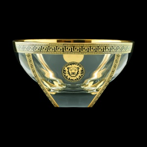 Fusion MV FLGB B Large Bowl 13x24,5cm 1pc in Antique&Leo Golden Black Decor (42-329)