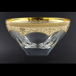 Fusion MV FEGI Large Bowl 13x24,5cm 1pc in Flora´s Empire Golden Ivory Decor (25-576)