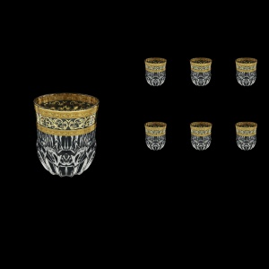 Adagio B2 AALK Whisky Glasses 350ml 6pcs in Allegro Golden Light Decor (65-646/L)
