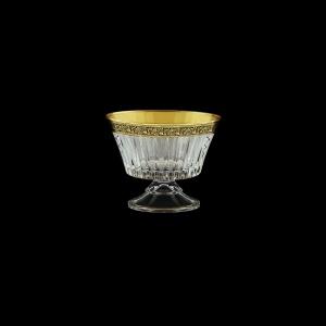 Timeless MMN TMGB SKCR Small Bowl d12,6cm 1pc in Lilit Gold. Black D+SKCR (31-115/bKCR)