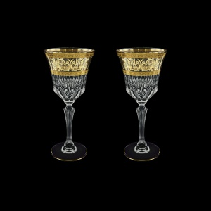 Adagio C2 AALK Wine Glasses 280ml 2pcs in Allegro Golden Light Decor (65-644/2/L)