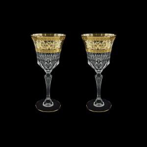 Adagio C2 AALK Wine Glasses 280ml 2pcs in Allegro Golden Light Decor (65-644/2/L)